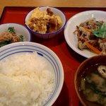 かっぽうぎ - 3品定食