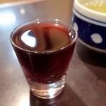 38154527 - 八ッ目生キモ;赤ワイン漬けで,特に何とも...w @2015/05/15