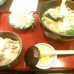 うどん土佐屋 - 15/5 日替わりセット