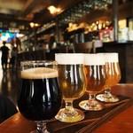 ブルドッグ 銀座 クラフトビール World Beer Pub&Foods - クラルトビール飲み比べ~