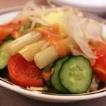 洋食の老舗 美松 - 2015年5月 アスパラガスのサラダ
