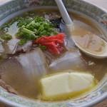 ラーメン天国 - みそバターチャーシュー麺 600円」