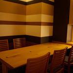 流石 Le蔵 - 暖簾で仕切られた半個室(最大四名様)、完全個室(最大十名様)をご用意しております。