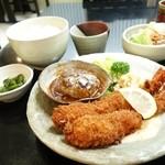 西洋食房 芝 - 2014年8月 スペシャルランチ【1300円】これに、スープ、デザート、ドリンクが付きます♪