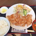 焼肉乃我那覇 - ポーク焼肉定食(¥750)