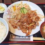 焼肉乃我那覇 - しょうか焼き定食(¥650)