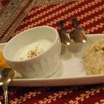 サティヤム - デザート盛り合わせ
