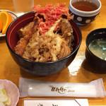 天秀 - 天丼 850円