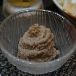 串焼き 道久 - 蟹味噌・・蟹の身入り