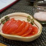 串焼き 道久 - トマト刺し