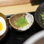 つけ麺 道 - 自家製柚子胡椒