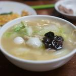 台湾料理 光春 - 海老そば