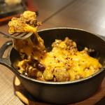 听屋 - チリビーンズのチーズ焼きココット