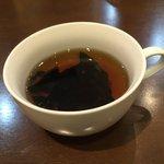 KOMEYA BASE - タコスライスセット500円(ランチパスポート価格)のスープ☆(第一回投稿分③)