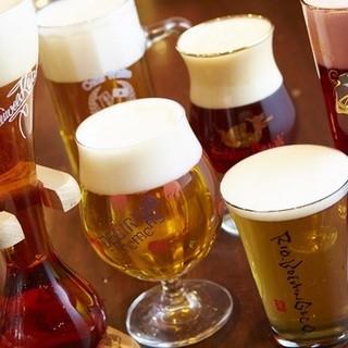 直輸入ベルギービールの樽生、ボトルが合わせて80種類以上‼