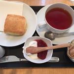 38165051 - おからスコーンと紅茶