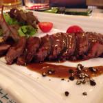 てぃーち FOOD FACTORY - 蝦夷鹿のロースト@980
