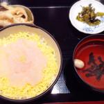 38166928 - 白えびのお刺身丼定食