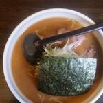 らーめん 元 - 醤油ラーメン 700円
