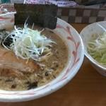 麺屋 壱福 - ネギ塩ラーメン