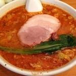 我流担々麺 竹子 - タンタン麺 大辛(750円)