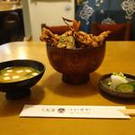 38169781 - 「海老穴子天丼」 2015年3月