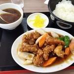 めん処マサムネ屋 - 酢豚定食780円♪