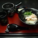 和洋ダイニング かなで - お茶漬けの鮭です
