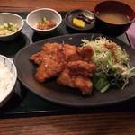 恵利 - 油淋鶏定食