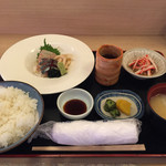 新日本料理 越後家 - 日替りランチ(750円)