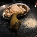 Sushi Sasabune  - ☆アワビと肝(●^o^●)☆