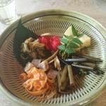 38178489 - 地野菜の盛り合わせ