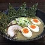 """食""""留麺 - のり玉ラーメン"""