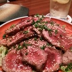 つくしんぼ - 和風牛たたきサラダ♪