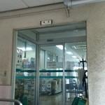 富山中央署食堂 - 食堂入口です。