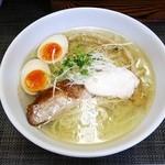 麺や金時 - 味玉塩らぁ麺¥820