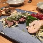 38180807 - 『肉前菜盛り合わせ』様(1500円)まずはアイドリング的に前菜♪