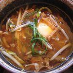 Arashiyamatei - 酸っぱ辛つけ麺のつけ汁(2015.05)