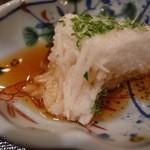 味 竹林 - 1品目:長芋のシャキシャキとヌルヌル感が混在し優しく喉を抜けて行き食事がスタートします。 [2015/05 夜]