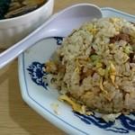 平和軒 - 『炒飯・半ラーメンのセット』¥850-(ランチ)