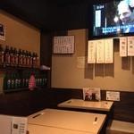 ちづる食堂 - 店内テーブル席