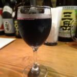 はっぴぃあわー - グラスワイン赤