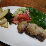 はっぴぃあわー - イベリコ豚の自家製ベーコン