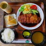 タチバナ - チキンかつ(みそ)定食