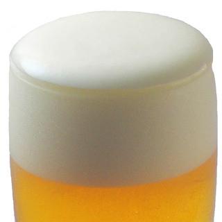 ビールマイスターが入れる絶品生ビール!