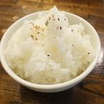 四川担担麺 阿吽 - ご飯