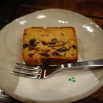 物豆奇 - プルーンのパウンドケーキ