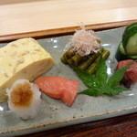 御りょうり屋 伊藤 - 生姜の入った出汁巻玉子美味しいですよ♪