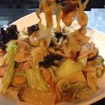 中華料理 朝霞 - あんかけ焼き刀削麺
