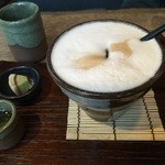 マメゾウアンドカフェ - カフェラテ594円